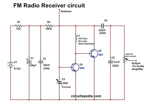 am fm radio receiver circuit diagram images fm transmitter am fm radio receiver circuit wiring diagrams