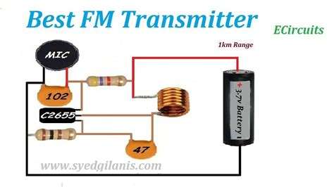 FM Transmitters Circuit Zone Electronic Projects
