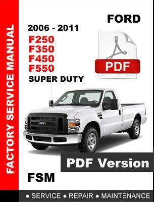 FORD F250 OWNER S MANUAL Pdf Download