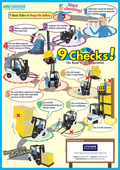 FORKLIFT SAFETY TIPS Health and Safety Authority