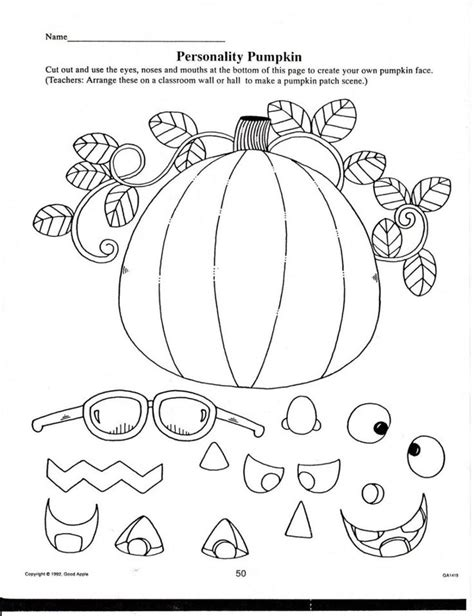 FREE 1st Grade Halloween Coloring Pages for Kids