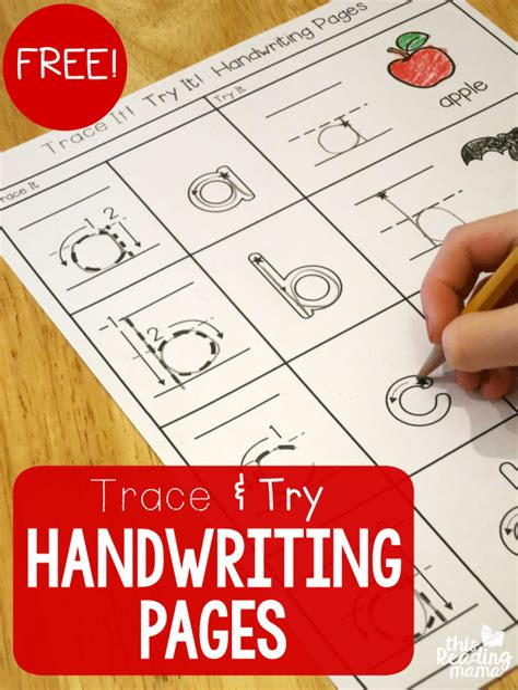 FREE Cursive Handwriting Worksheets This Reading Mama