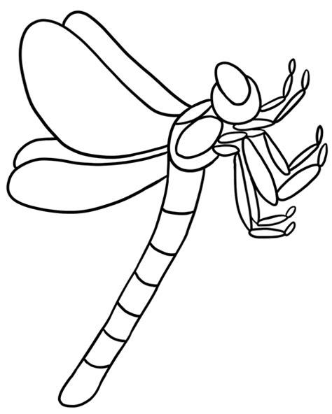 FREE Dragonfly Coloring Pictures Just Print the Page and