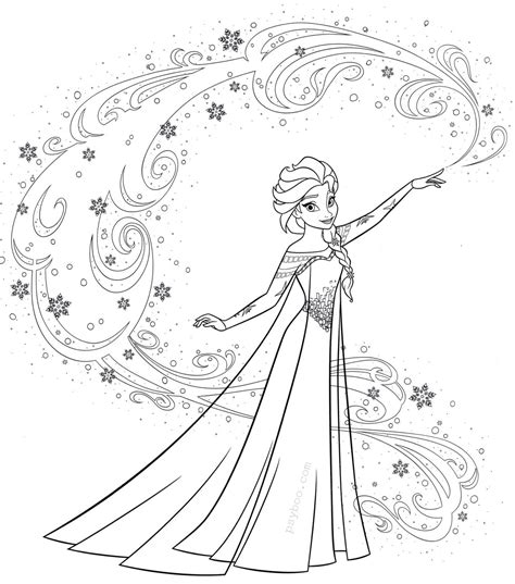 FROZEN COLORING Pages Free Download Printable