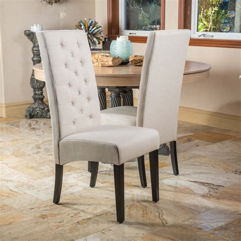 Fabric Dining Room Chairs Overstock