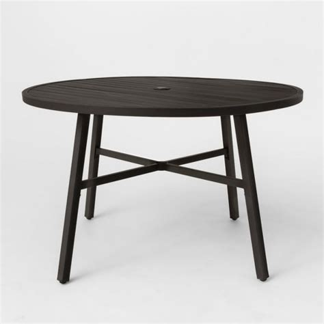 Fabron Round Patio Dining Table Threshold Target