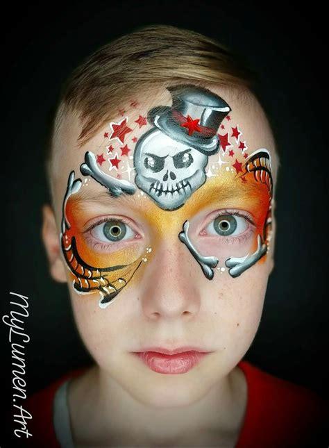 Face Painting Ideas for Halloween 25 DIY Ideas