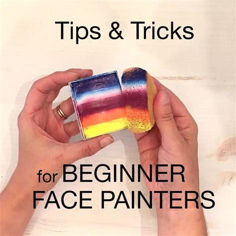 Face painting tips tricks and tools NellieBellie