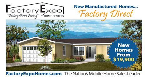Factory Expo Home Centers New Factory Direct Mobile Homes