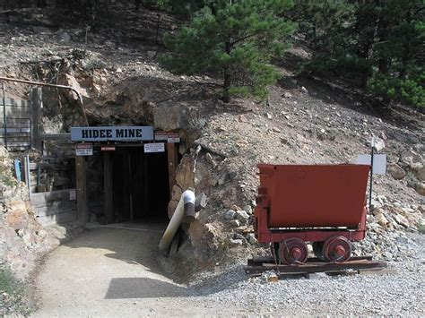 Factory Mine Tours Gold Panning Colorado