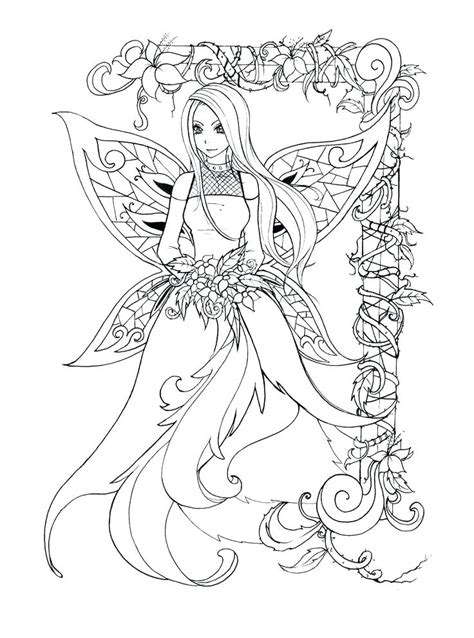 Fairy Coloring Book and Coloring Pages