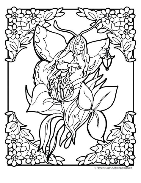 Fairy Coloring Book and Coloring Pages Gardenfairy