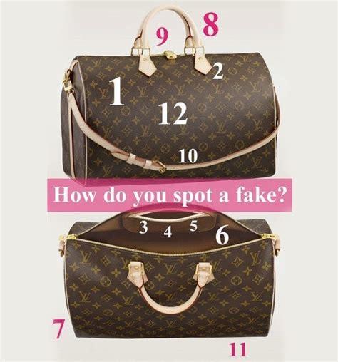 Fake Louis Vuitton Guide I Spot Fake Handbags