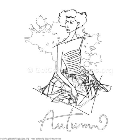 Fall Coloring Pages GetColoringPages