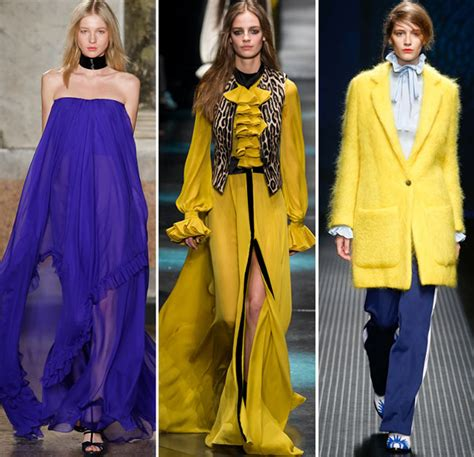 Fall Winter 2016 2017 Color Trends Fashionisers