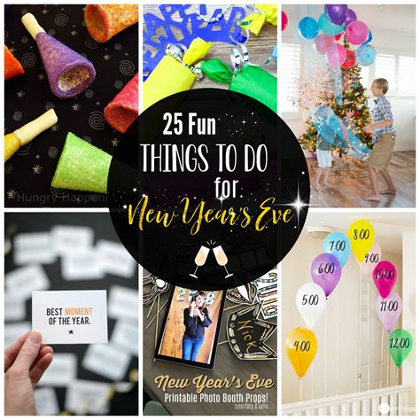 Family Things To Do On New Years Eve