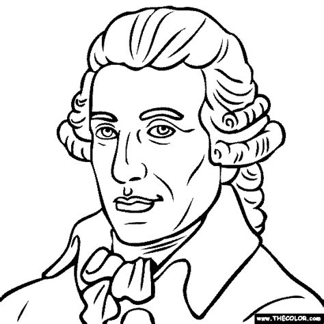 Famous Historical Figure Coloring Pages Page 1