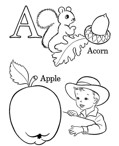 Farm Alphabet Coloring Pages Farm ABC Activity sheets