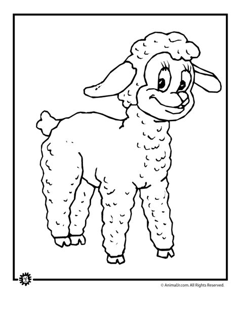 Farm Animal Coloring Pages Woo Jr Kids Activities