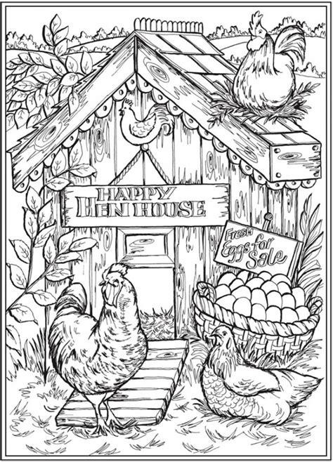 Farm Life Coloring Pages Free Printable Farm Life