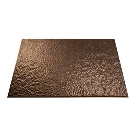 Fasade 18 5 in x 24 5 in Oil Rubbed Bronze Thermoplastic