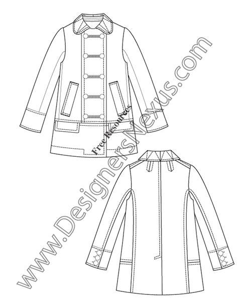 Fashion Flat Sketches Designers Nexus