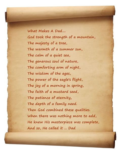 Father and Son Poems and Articles Fathers Dads Family