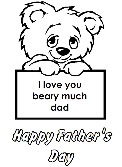 Fathers Day Coloring Pages Download Printable Father s