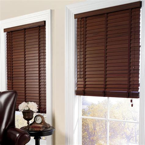 Faux Wood Blinds Faux Window Treatments Budget Blinds