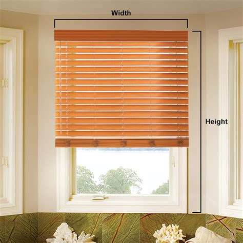 Faux Wood Blinds at Menards