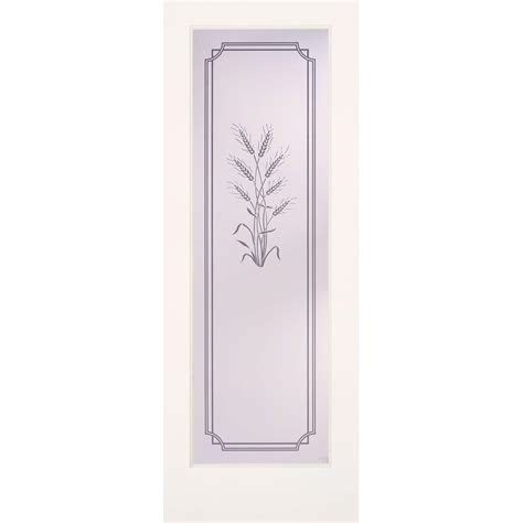 Feather River Doors 24 in x 80 in Privacy Smooth 1 Lite