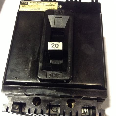 Federal Pacific Electric Equipment FPE Circuit Breakers