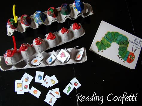 Feed the Very Hungry Caterpillar Printable Reading