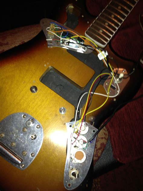 fender jaguar wiring diagrams images fender 4 way telecaster fender forums view topic kurt cobain jaguar wiring