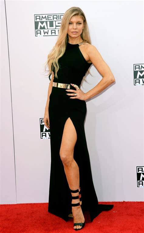 Fergie 2014 American Music Awards Red Carpet Arrivals