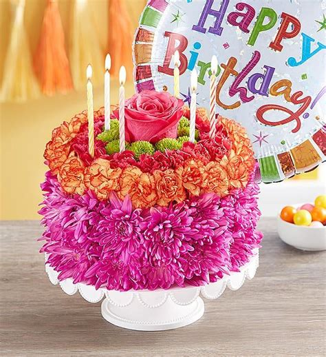 Find birthday cake bakeries, florists and balloon shops