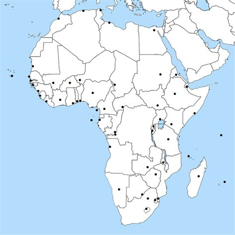 Find the African Capitals No Map Quiz sporcle