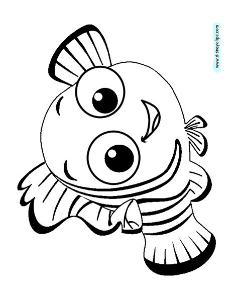 Finding Nemo Coloring Pages Free Coloring Page 34225