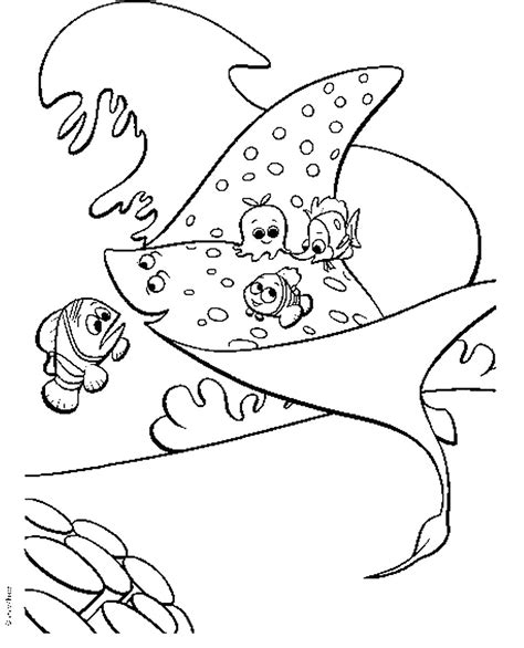 Finding Nemo Coloring Pages coloring2print