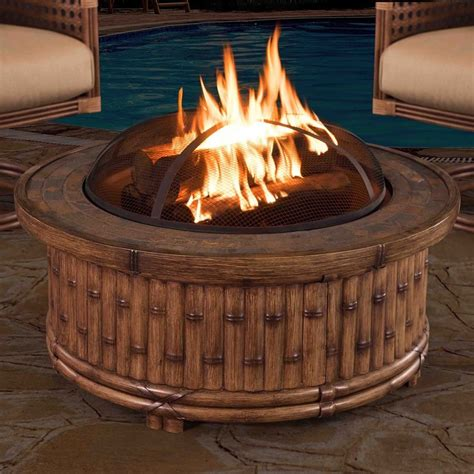 Fire Pits Outdoor Fire Pits Bowls Tables Lowe s Canada