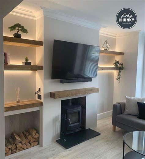 Fireplace Alcove Design Ideas DecorPad