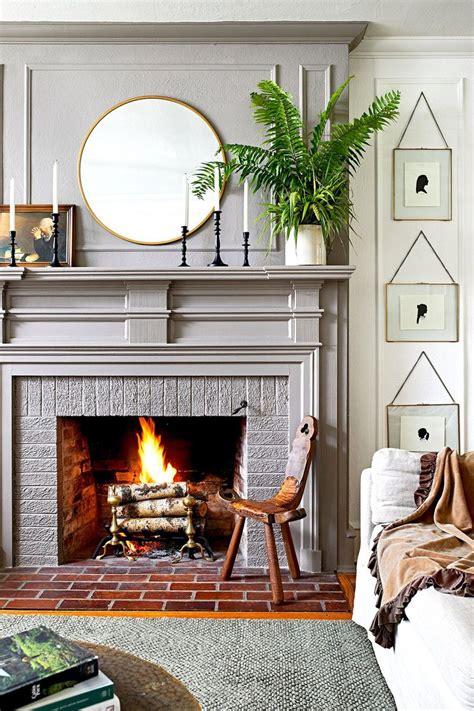 Fireplace Designs and Decorating Ideas BHG