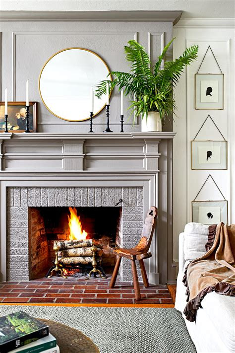 Fireplace Mantel Decorating Better Homes and Gardens