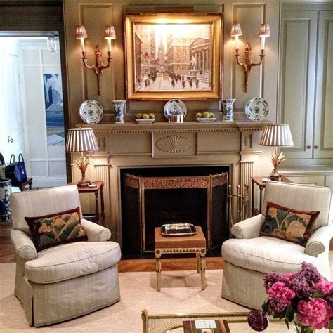 Fireplace Mantel Decorating Ideas Country Living Magazine