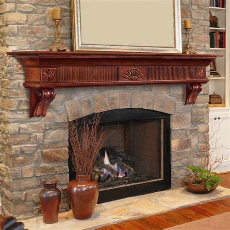 Fireplace Mantels Shelves Paneling other Home