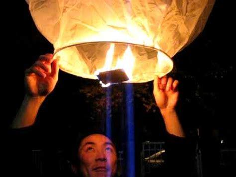 Fireworks 3 Sending A Chinese Lantern Afloat