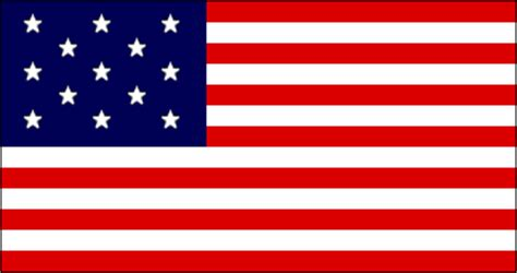 First Official Flag of the United States
