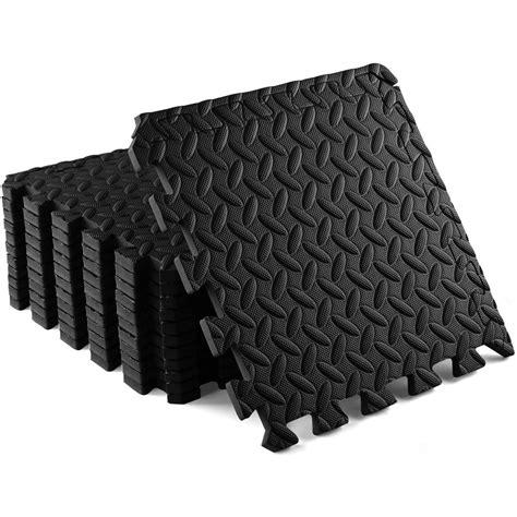 Fitness Floor Tiles and Interlocking Gym Floor Mat Tiles