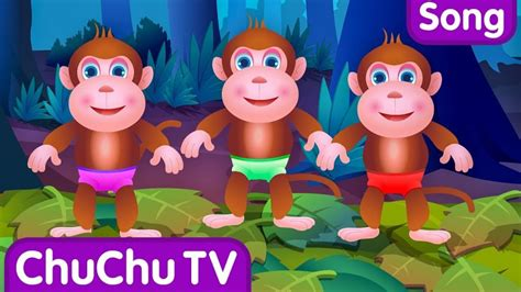 Five Little Monkeys Jumping On The Bed Part 1 The