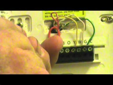 wiring diagram for hunter digital thermostat images thermostat fix my own ac how to change a thermostat